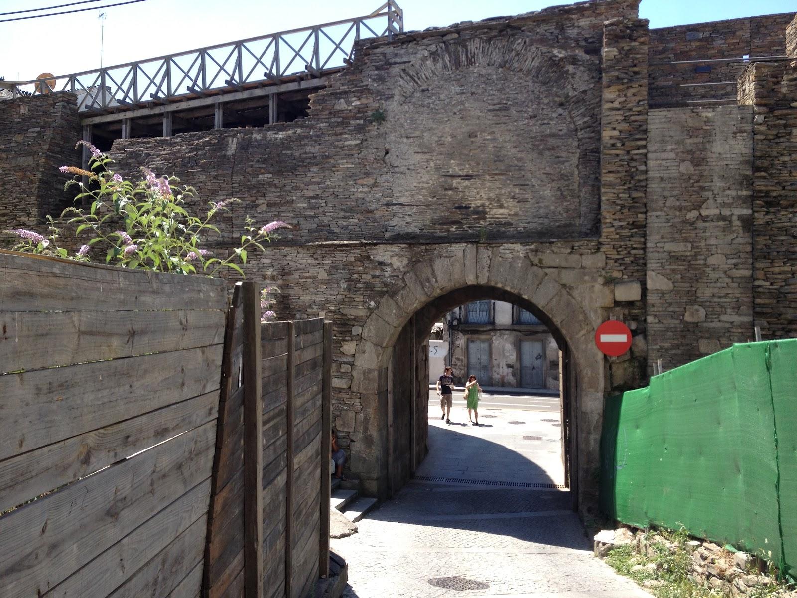 Hispania Roman Walls Of Lucus Augusti Hispania