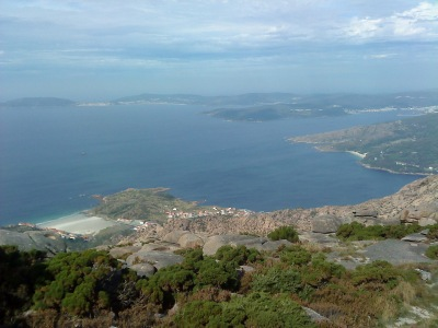 By E.V.Pita 2012 /  Cape Finisterre (Fisterra) (Spain) from Mount Pindo