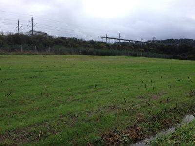 by E.V.Pita 2012 / Green Rail Way Berdia-Oroso-Ordes / Vïa Verde antigua vía de tren Santiago-Ordes-A Coruña