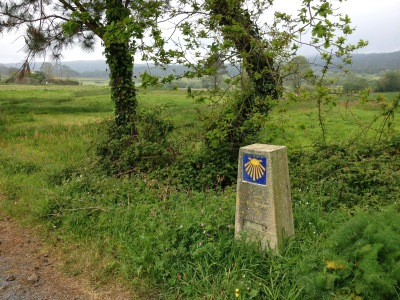 By E.V.Pita (2014), St James' Way from Santiago to Finisterre Cape / Por E.V.Pita (2014),Camino de Santiago hasta el cabo Fisterra