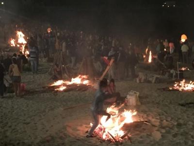 St John Even Bonfires in Corunna (Spain)  http://evpita.blogspot.com/2017/06/st-john-even-bonfires-hogueras-de-san.html  by E.V.Pita (2017)  Hogueras de San Juan 2017 en A Coruña  Lumeiradas de San Xoán 2017 nas praias de Riazor e Orzán  por E.V.Pita (2017)