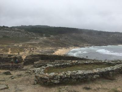 Iberia: Baroña hill-fort / by E.V.Pita (2017) Link: https://archeopolis.blogspot.com/2017/10/iberia-barona-hill-fort-castro-de-barona.html / Castro de Baroña / por E.V.Pita (2017)